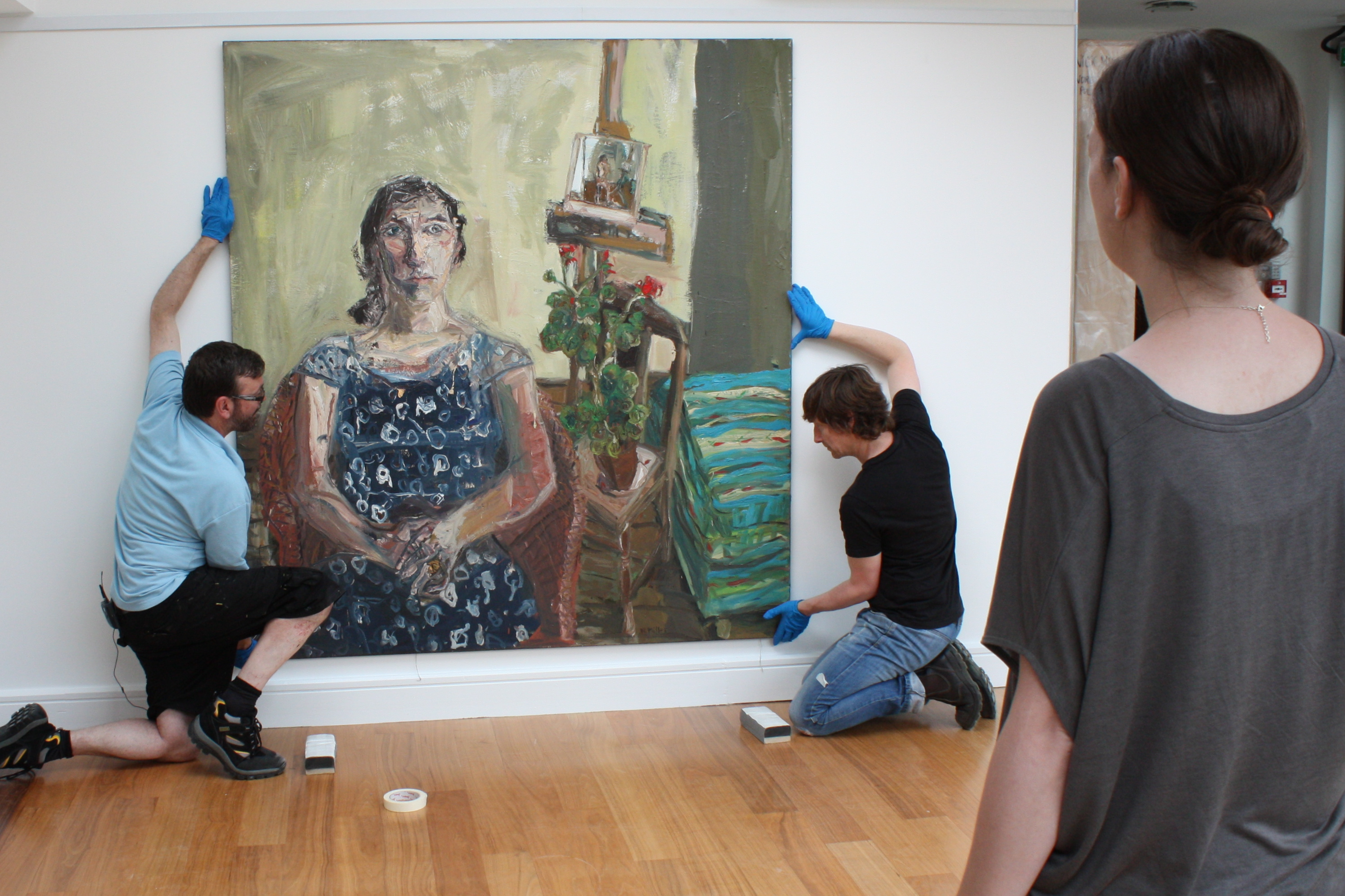 Installing Noreen 1, Nick Miller Arthouse 2014 Image Lisa Fingleton