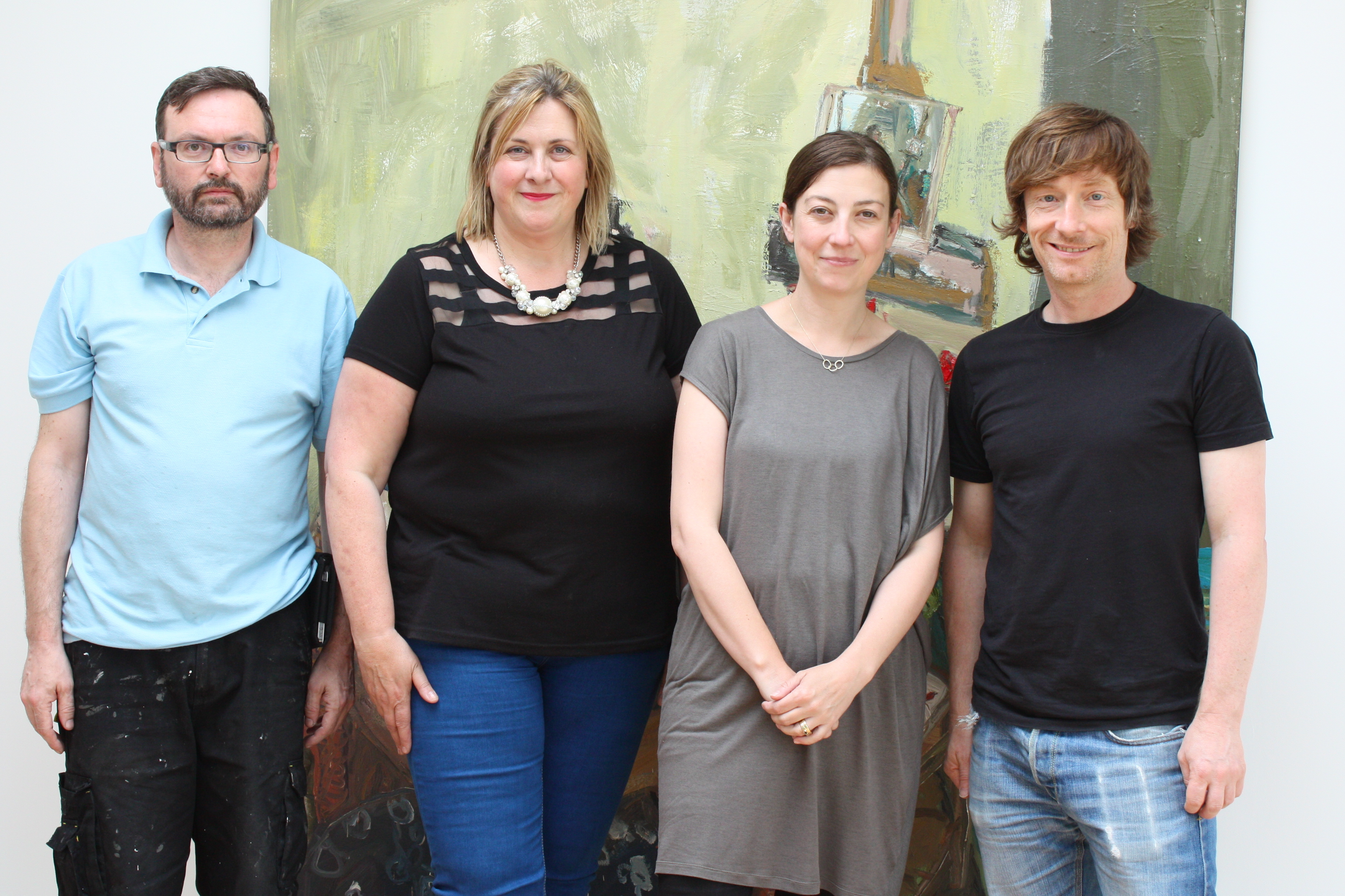 The Imma arthouse team, Nick Miller Arthouse 2014 Image Lisa Fingleton